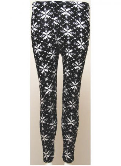 Monochrome Self Pattern Leggings