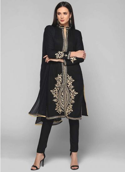 Baroque Embroidered Suit
