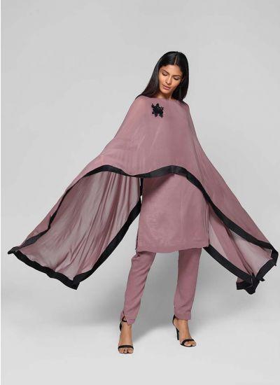 Detachable Cape Suit Set