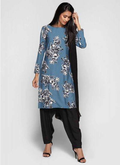 Bold Bud Printed Salwar Suit