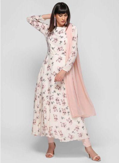 Chintz Rose Printed Flow Dress