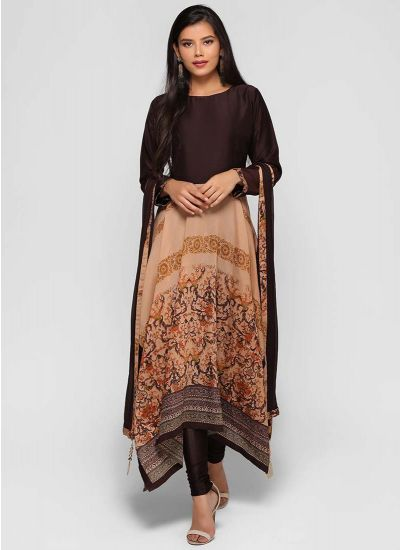 Asymmetric Empress Skirt Suit
