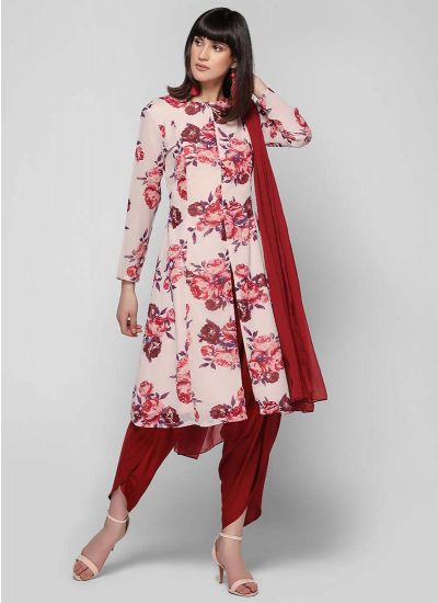 Rose Tulip Jacket Suit