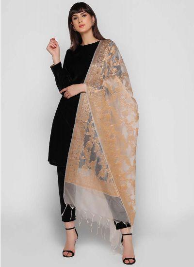Banarasi Velvet Dress