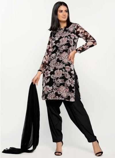 Damask Blush Print Salwar Suit