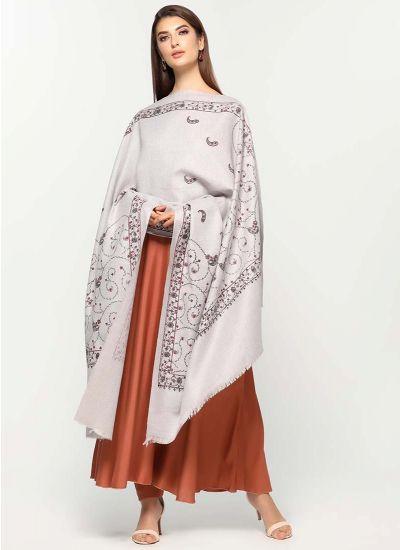Kashmiri Print Shawl Dress