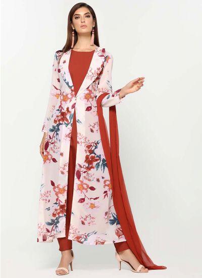 Cream Prilmrose Jacket Dress