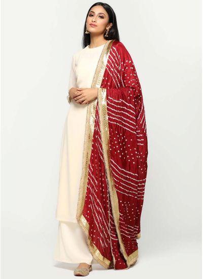 Banarasi Printed Dupatta Suit