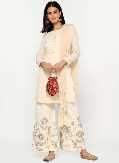Gota-Patti Cotton Suit