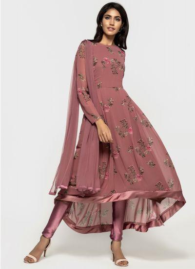 Peony Asymmetric Bias Dress