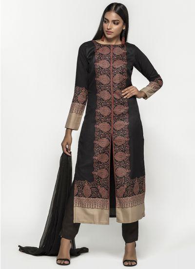 Paisley Woven Shawl Dress