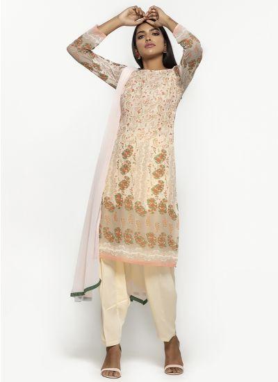 Botanic Foliage Salwar Suit