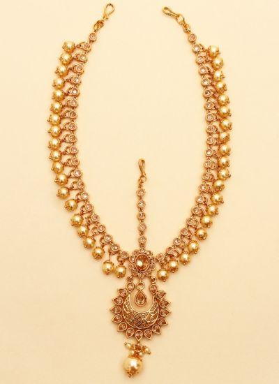 Majestic Gold Matha Patti