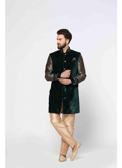 Brocade Weave Jacket & Trouser Set