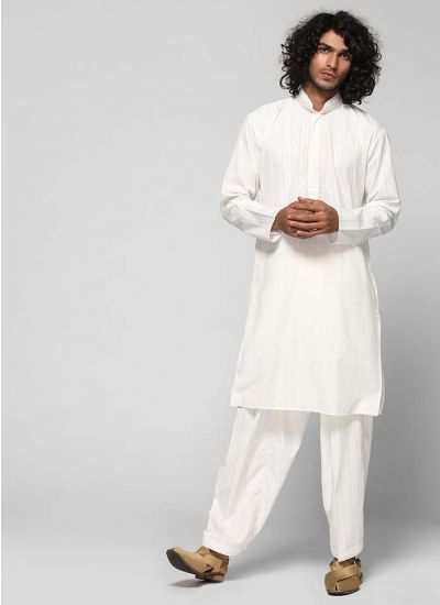 Thread Embroidered Kurta Salwar