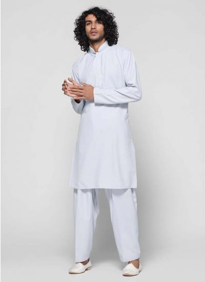 Resham Threaded  Kurta Salwar