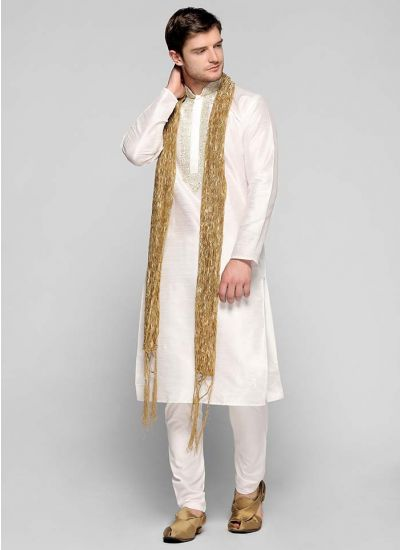 Zari Silk Kurta Set