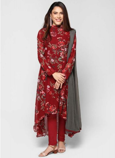 Petite Rose Asymmetric Dress