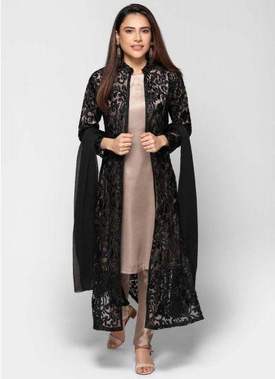 Petite Luxe Noir Jacket Dress
