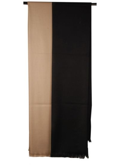 Black Woven Shawl