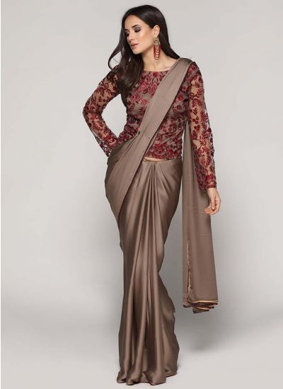 Intricate Resham Saree
