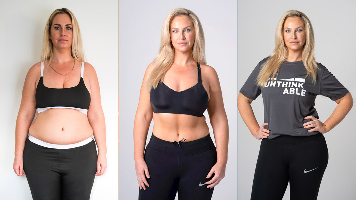 Josie Gibson weight loss result