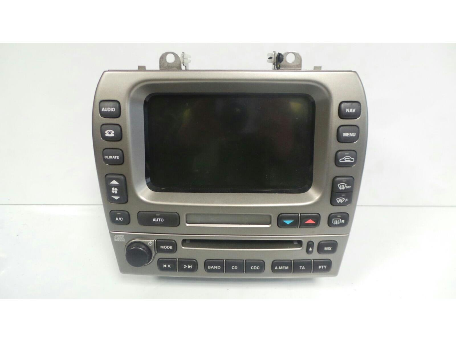 Jaguar 9X43 10E889 BA nav/cd player AM/FM Untesed May need coding by dealer