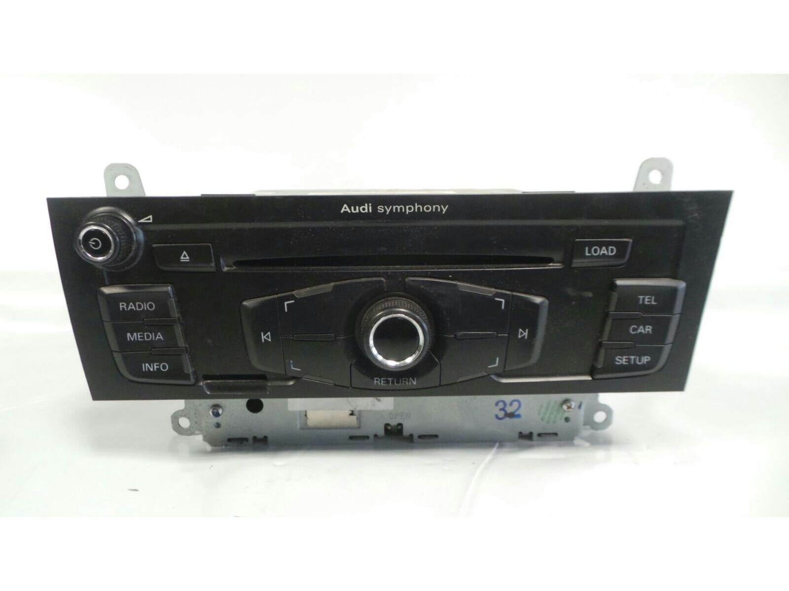Audi Multimedia Untested May Need Coding CD/Radio 8T2 035 195 AA