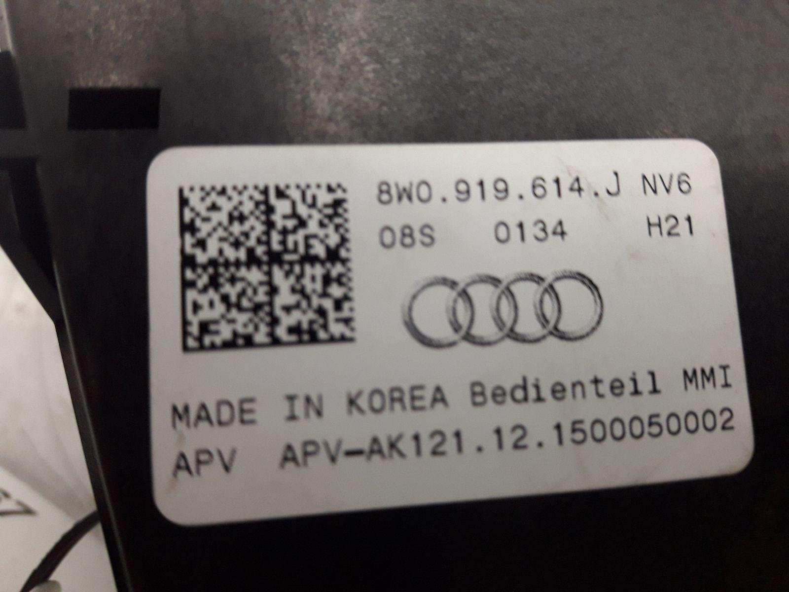 Audi 8W0 919 614 J    MMI CONTROL ROTORY CONTROLS