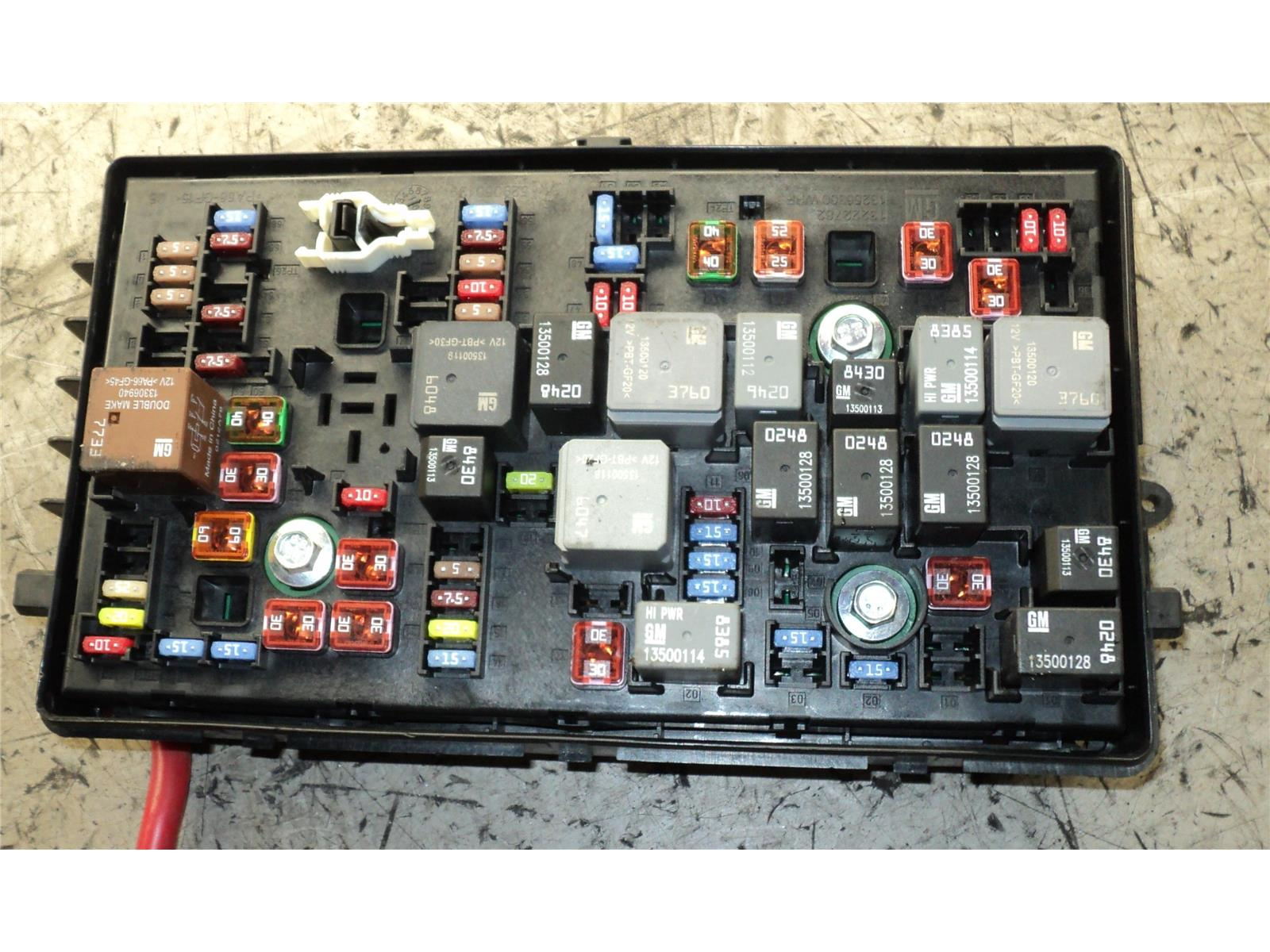 ... FUSE BOARD 2009 To 2013 Vauxhall Insignia Petrol Fuse Box & WARRANTY -  1185686