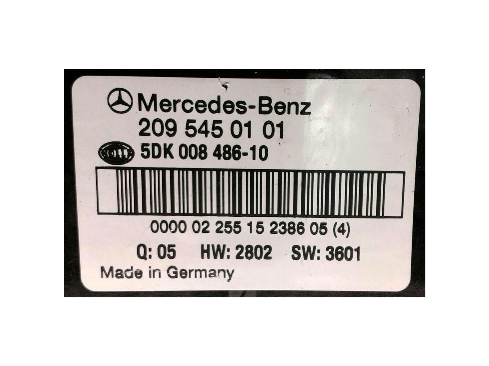 Mercedesbenz C Class 2003 To 2008 Ecu Engine Diesel Automatic Mercedes Benz Fuse Box Instruments 2007 C270