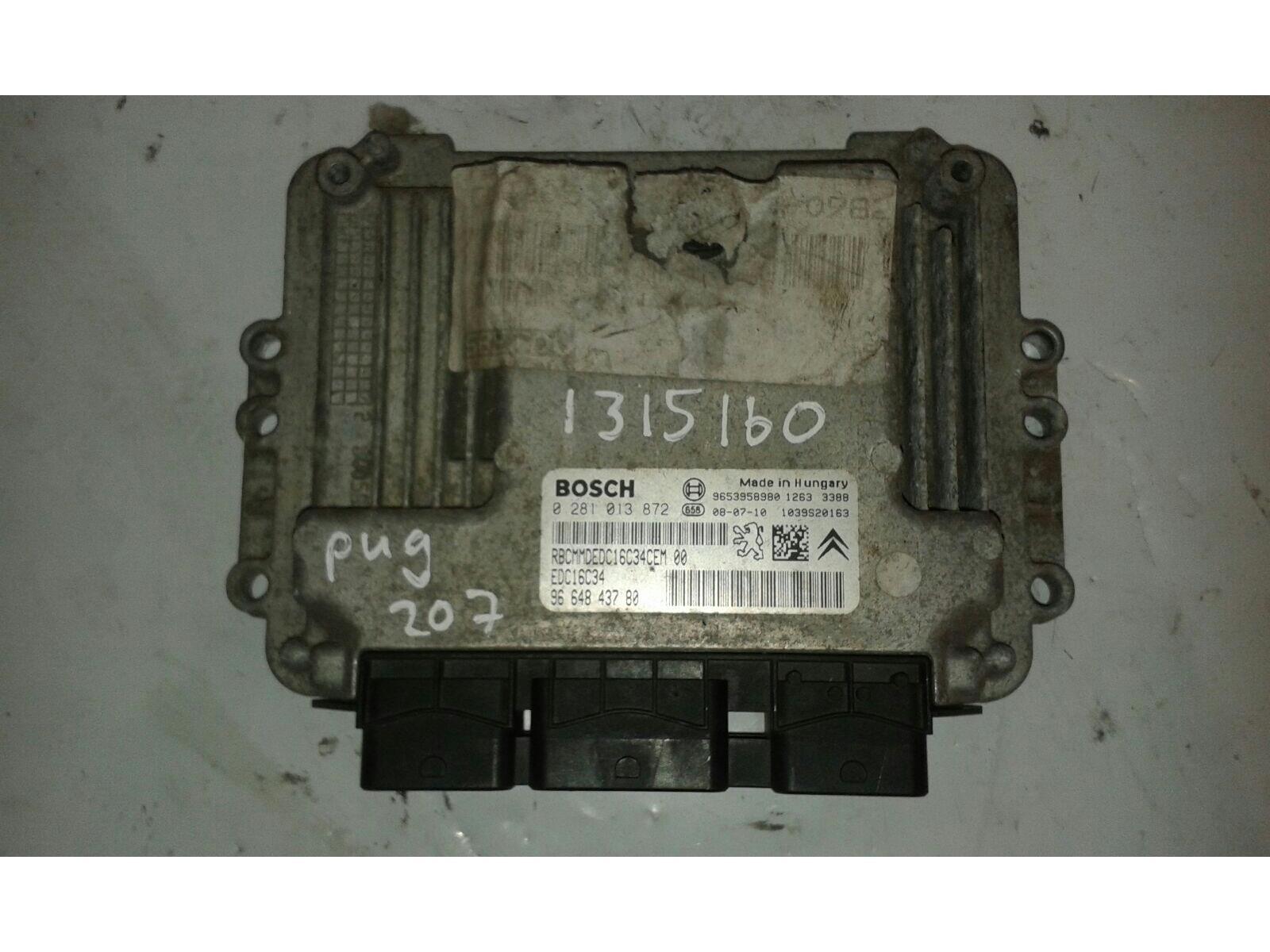 peugeot 207 2006 to 2009 ecu engine diesel manual for sale from rh motorhog co uk
