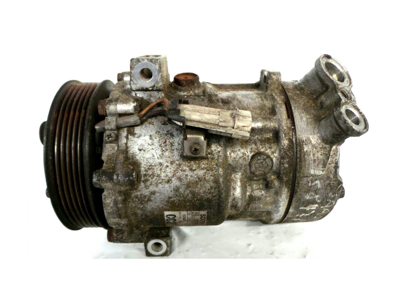 Saab 93 2003 To 2007 Air Conditioning Compressor Diesel Manual 9 3 Engine Diagram Ac Pump 07 19 Z19dt Con