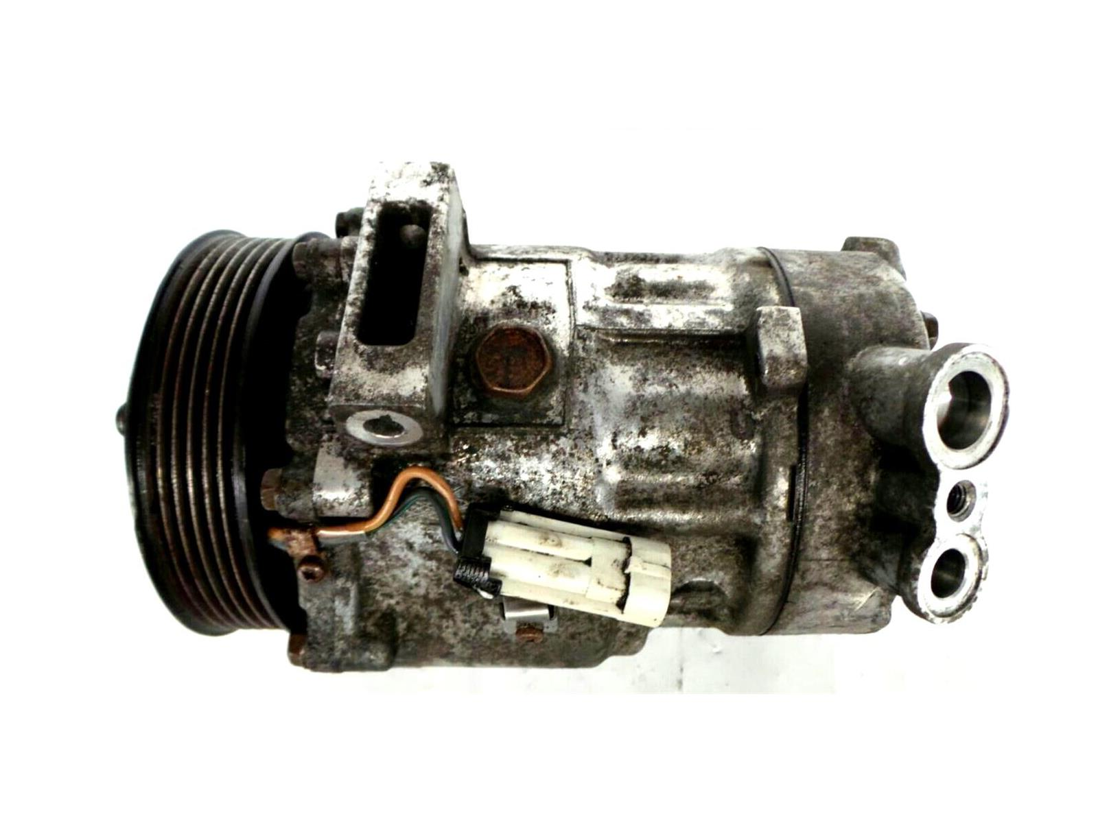 Saab 93 2003 To 2007 Air Conditioning Compressor Diesel Manual 9 3 Engine Diagram Ac Pump 07 19 Z19dt Con