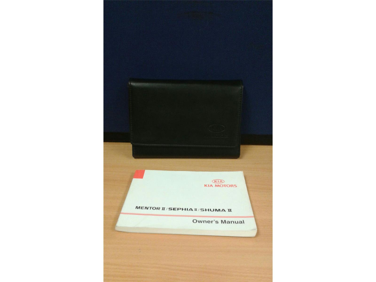 ... 2003 Kia Shuma II Owners Handbook Manual and Wallet - 5003045 ...