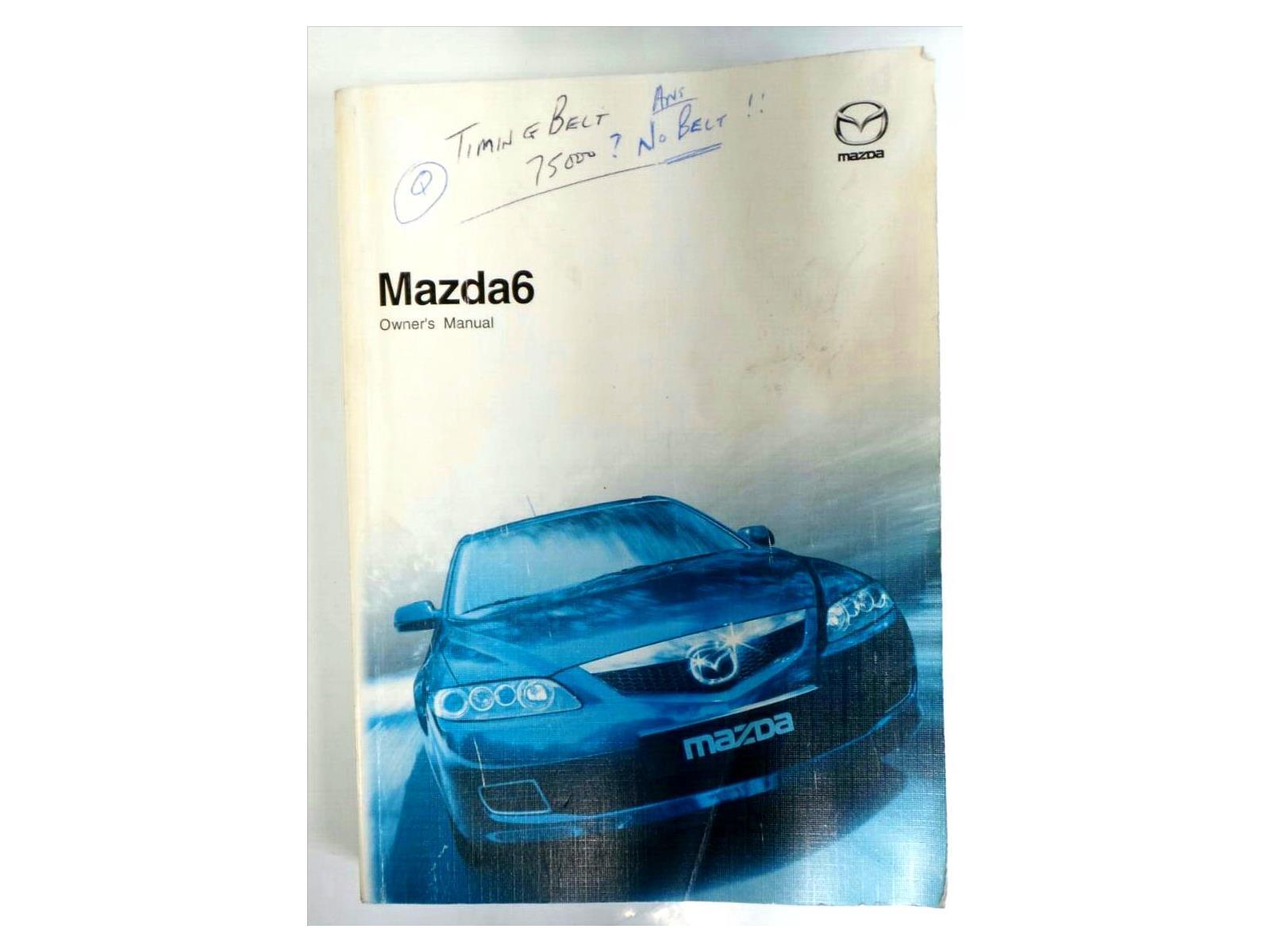 mazda 6 2002 to 2007 book pack petrol manual for sale from rh motorhog co uk mazda 6 2007 owners manual Mazda SUV