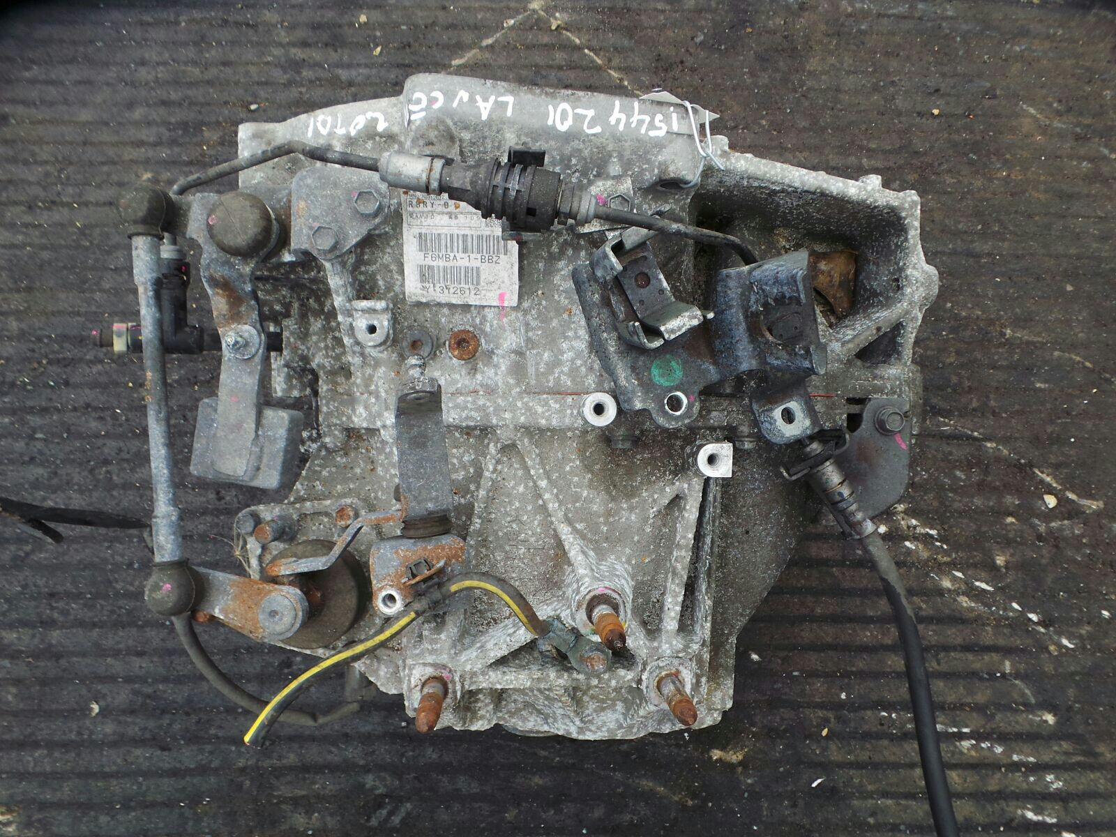 Mitsubishi Lancer 2008 On Transmission Assembly Diesel Manual Starter Location Gearbox 6 Speed Warranty 5084558