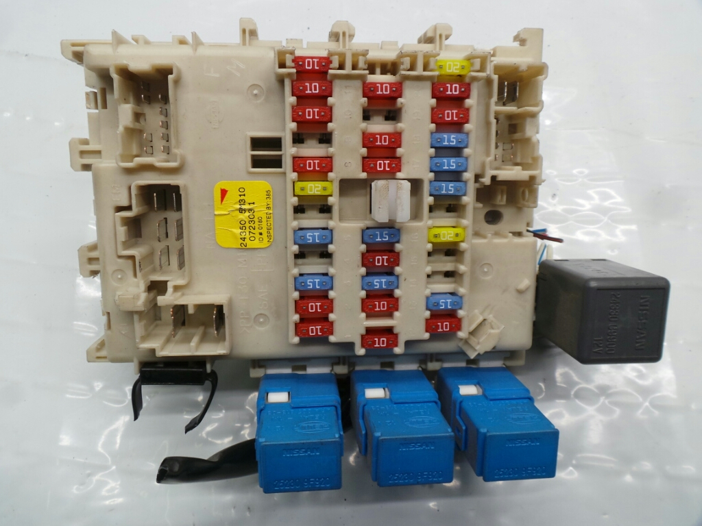 Nissan Almera 2000 To 2007 Fuse Box Petrol Manual For Sale From On Qashqai Fusebox Warranty 5156551