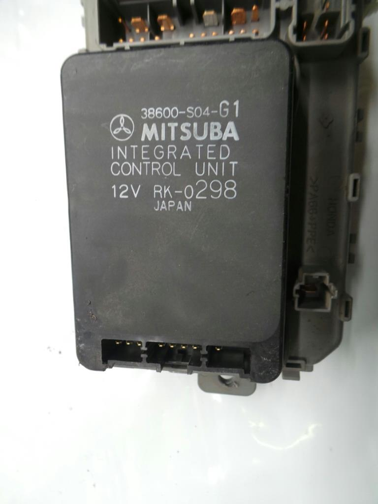 Honda Crv 1997 To 2002 Fuse Box Petrol Manual For Sale From Cr V Relay 38600 S04 G1