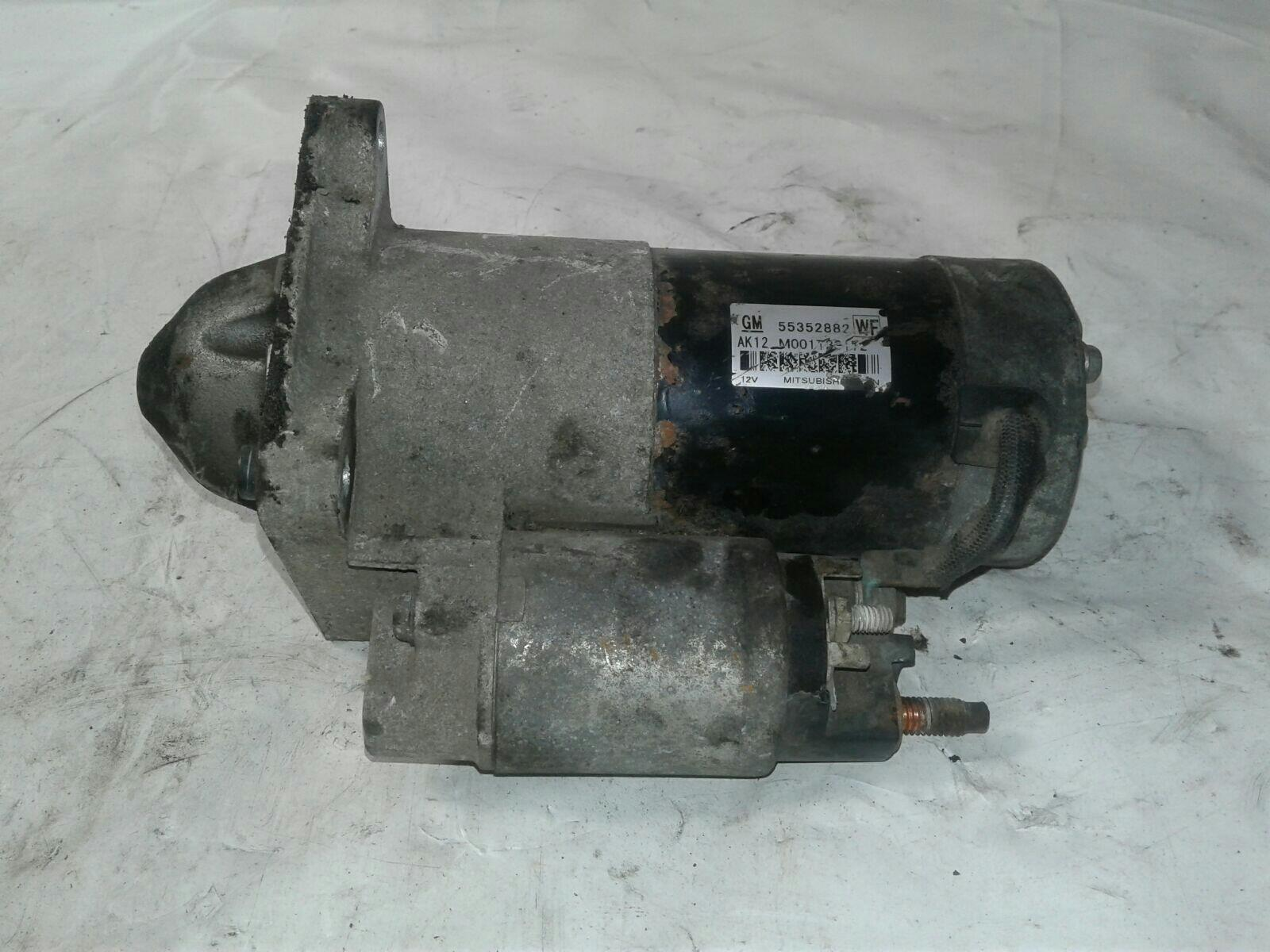 SAAB 9-3 2007 / 2011 Z19DTR - STARTER MOTOR 55352882 & WARRANTY - 7356491