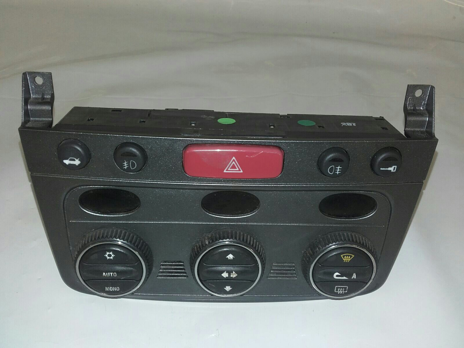 Alfa Romeo GT 2007 To 2010 Heater Control Assembly (Petrol / Manual ...