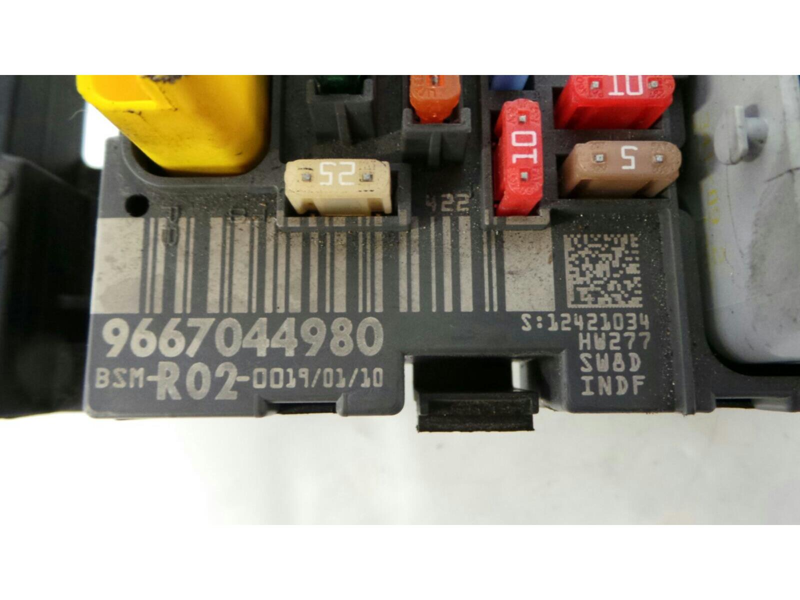 Peugeot 407 2004 To 2008 Fuse Box Diesel Manual For Sale From Board Warranty 7317668
