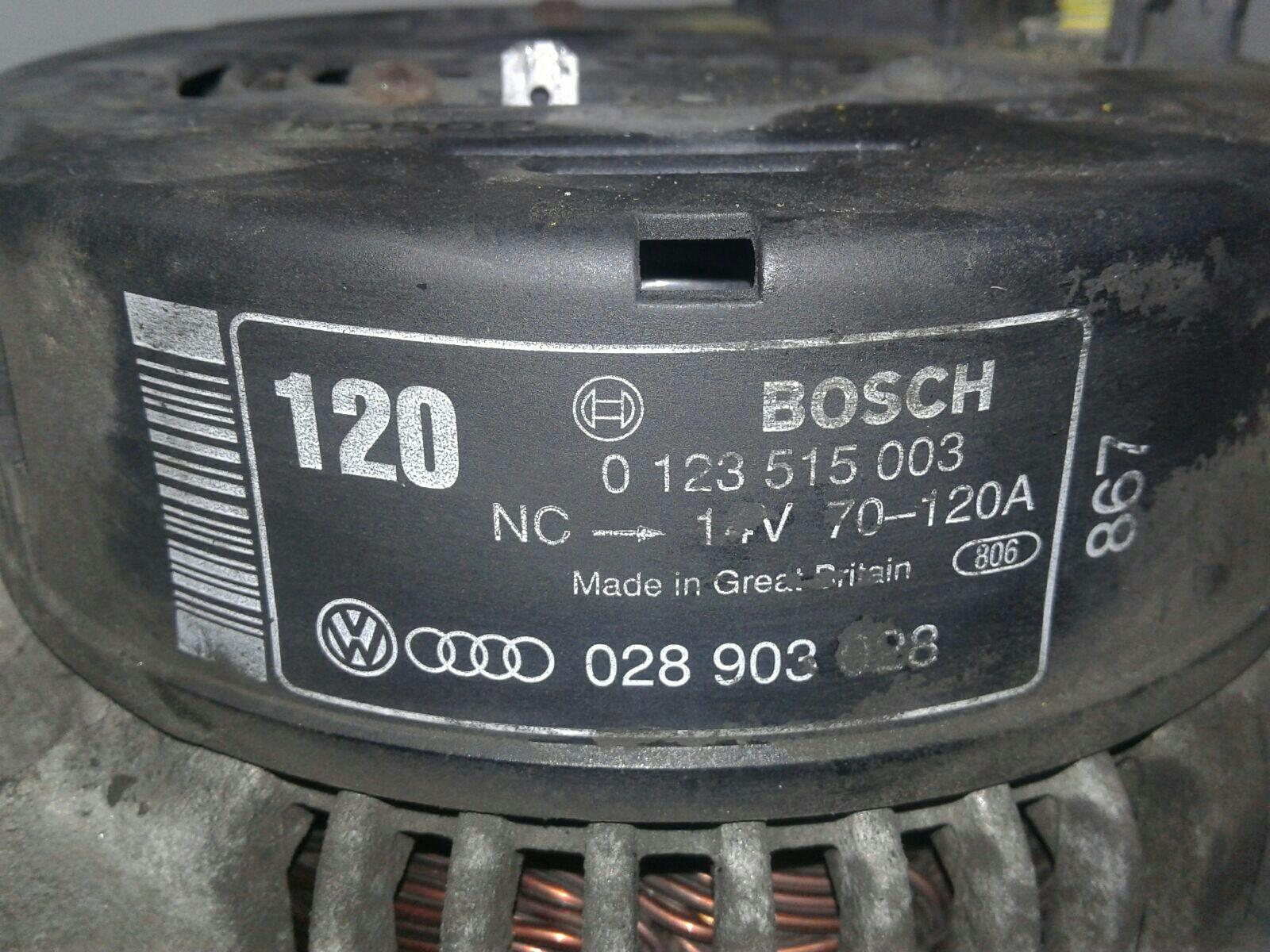 Audi A6 1997 To 2000 Alternator Diesel Manual For Sale From Se Tdi 19 Afn Warranty 7313516