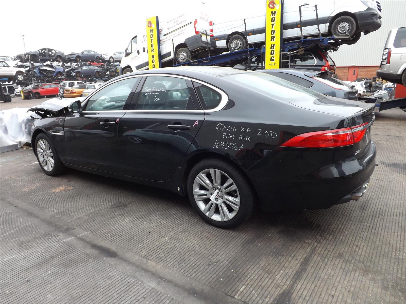 Jaguar XF 2015 Steering Rack or Box PAS Diesel Automatic for