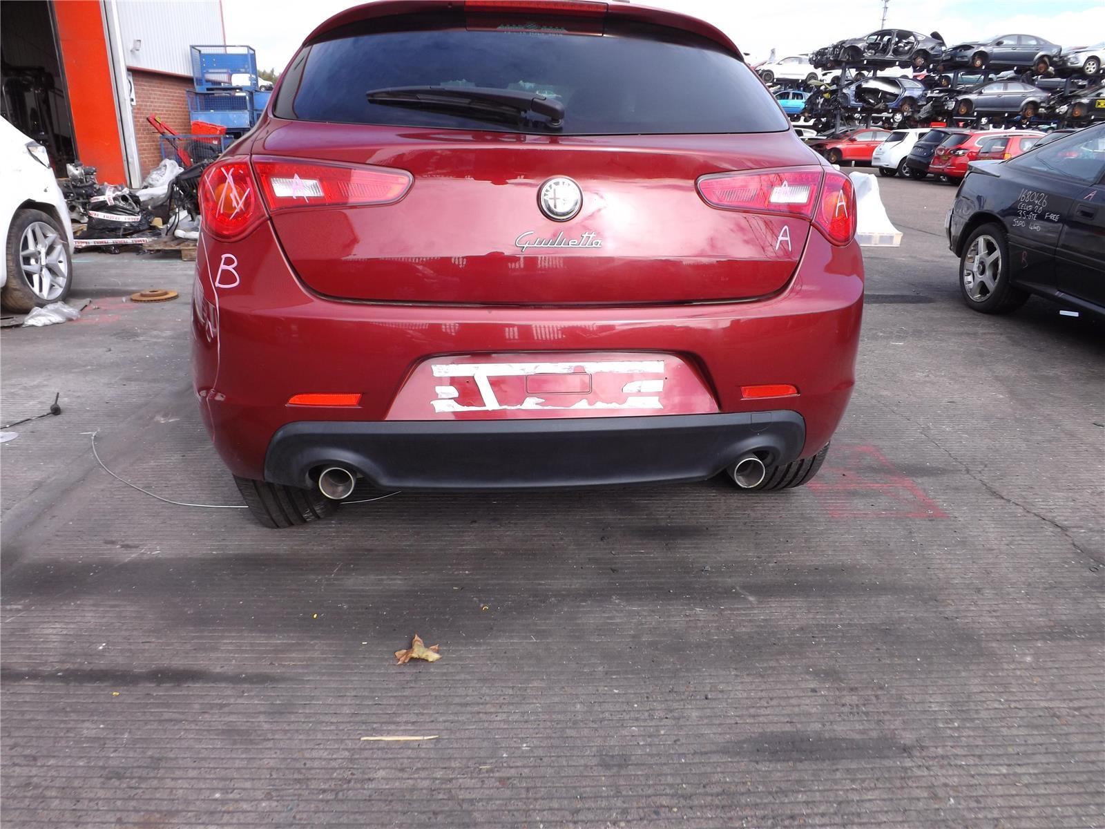 Alfa Romeo Giulietta 2010 To 2016 Bumper Rear Diesel Automatic 10 Sportiva Jtdm 5dr Hatchback Red 7377120