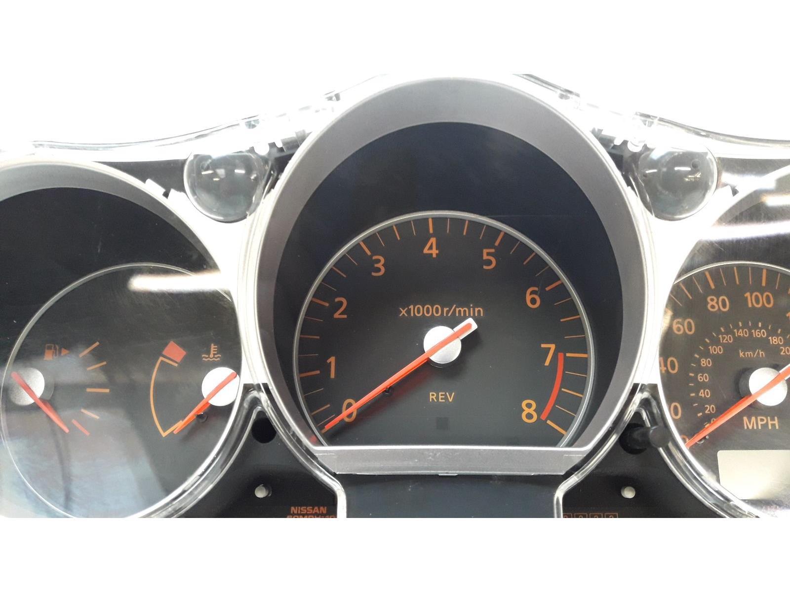 ... Nissan 350Z 2003 / 2007 - SPEEDO / CLOCKS & WARRANTY - 5201928 ...