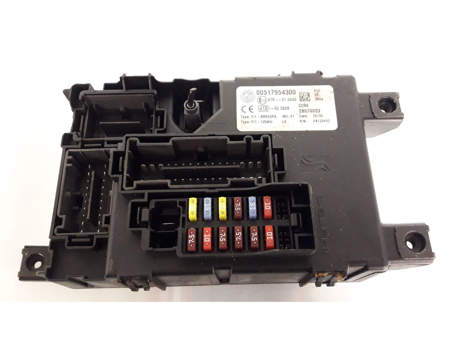 FUSE BOARD 2006 To 2008 Fiat Grande Punto Petrol Fuse Box & WARRANTY -  926245