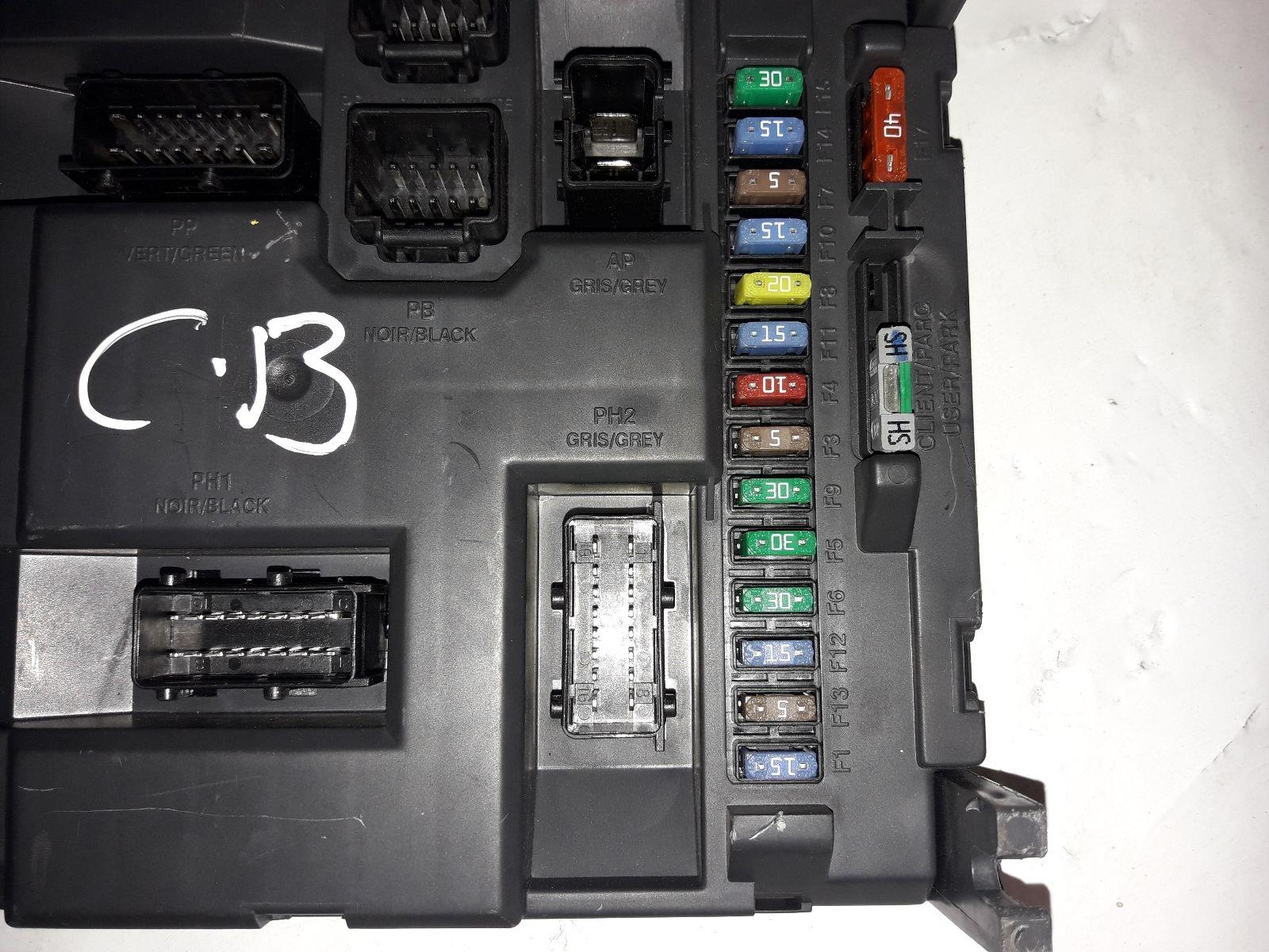 Peugeot 207 Fuse Box For Sale Completed Wiring Diagrams 3008 2009 On Petrol Manual From
