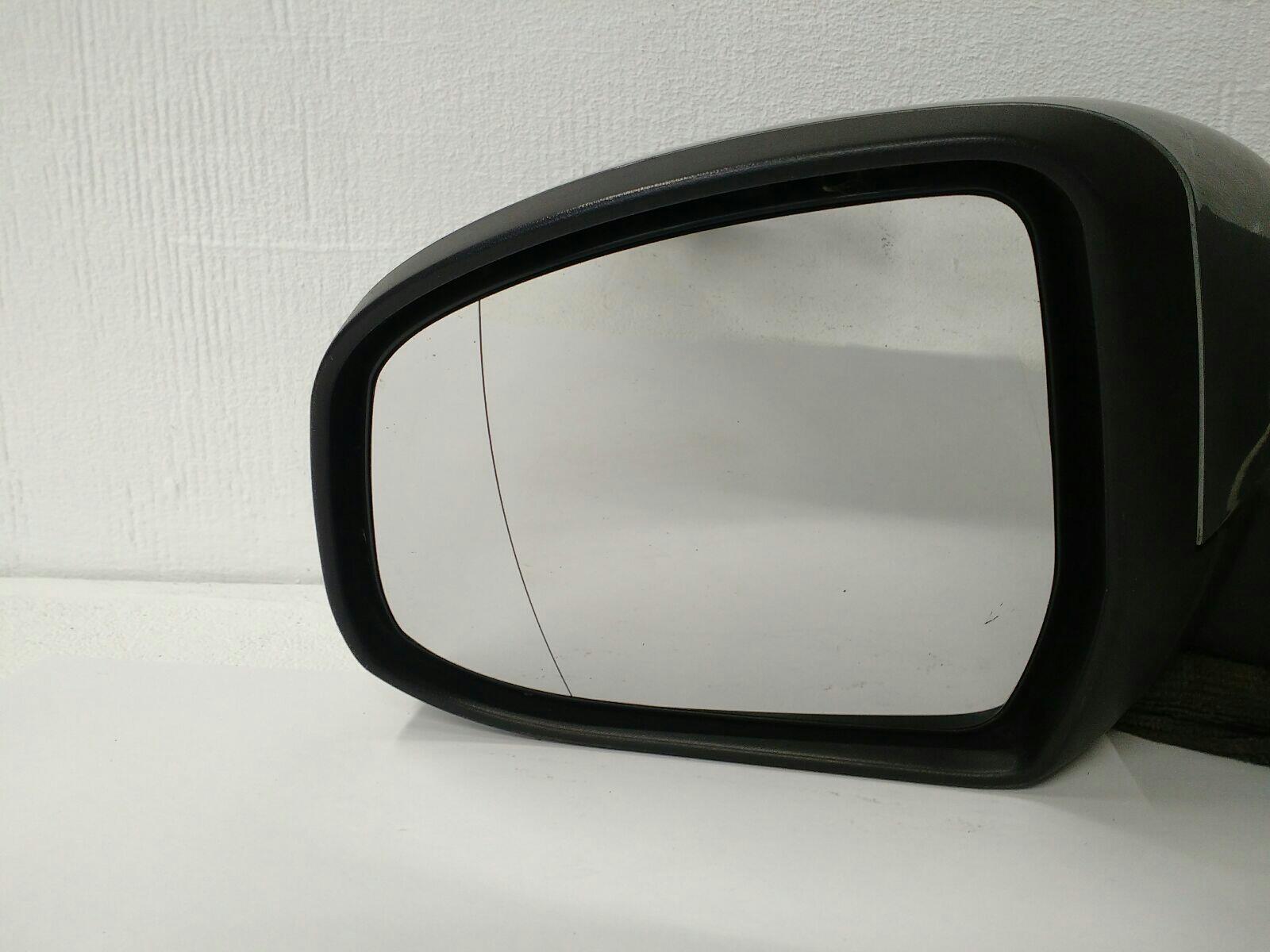 Driver Side FIPunto 2007 to 2017 Silver Door Mirror s RH