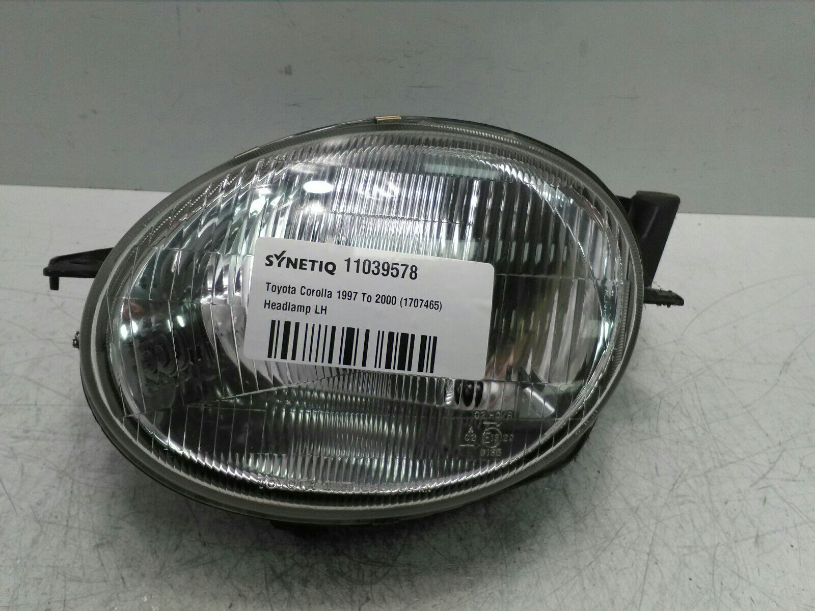 Toyota Corolla 1997 To 2000 Headlamp Lh Petrol Automatic